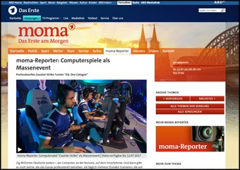 moma-Reporter: Computerspiele als Massenevent