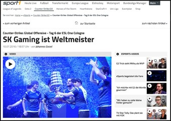 SK Gaming ist Weltmeister