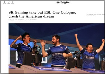 SK Gaming take out ESL One Cologne, crush the American dream