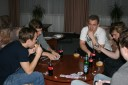 We played some poker at the first evening