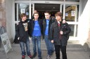 HuK, TLO, Jinro and MC outside IOS