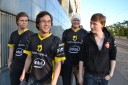 merz, SjoW, bischu and MorroW walking