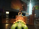 Me riding the turtle!