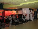 the AMD booth before the kickoff