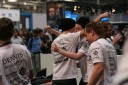 SK Gaming celebrate a win over fnatic