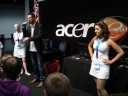 The Bigben girls at the Acer booth Raffle