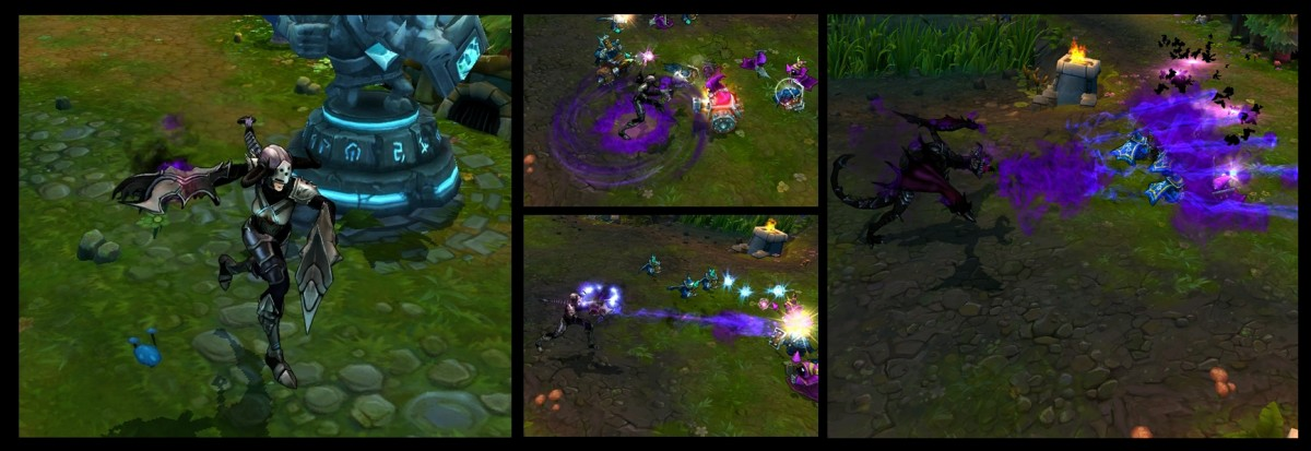 SK Gaming   Content: Riot release two new skins Ironscale Shyvana Ingame