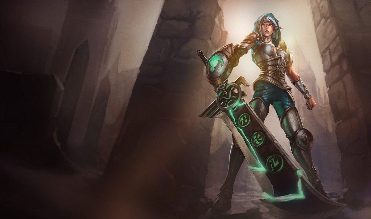 SK Gaming | Content: Lost and Forgotten: Garen, the Might of